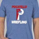 Poky Wrestling Blue Shirt